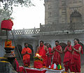Yagya at Old Durga Mandir of Banaras 2.jpg
