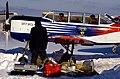 Yak-52(sky wolf). Before flight in a frost (4303389291).jpg
