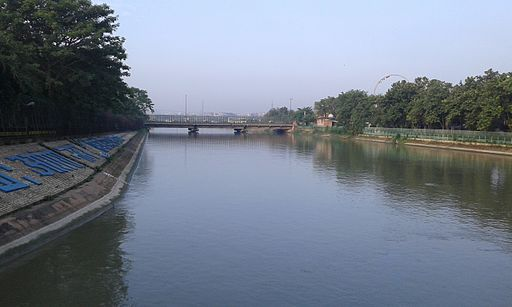 Yamuna Rivaer in delhi