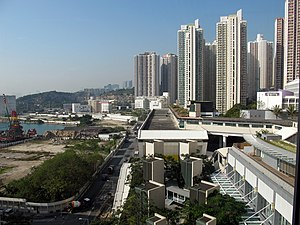 Yau Tong - Public housing estate in Yau Tong