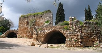 Yehiam - Remnants of the Crusader castle