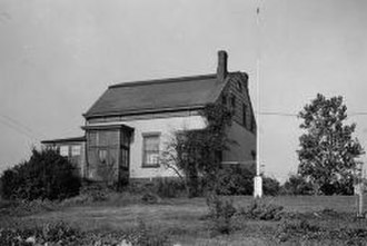 Rutherford, New Jersey - The Yereance-Berry House in 1938. Home of the Meadowlands Museum.