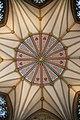 York Minster Chapter House Ceiling 1 (7569131520).jpg
