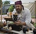 Yorktown Pirate Festival - Virginia - cannon cannon ball grape shot ammunition (33981087690).jpg