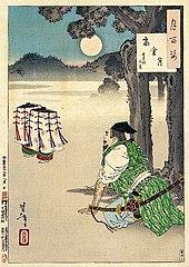 Takakura moon (Takakura no tsuki)