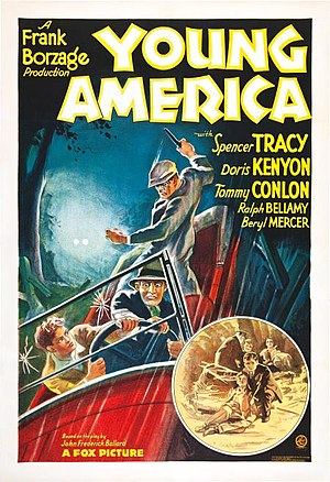 Young America (1932 film) - Theatrical release poster