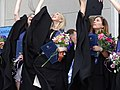Young Women at University Graduation - Vilnius - Lithuania - (27586617180) (2).jpg
