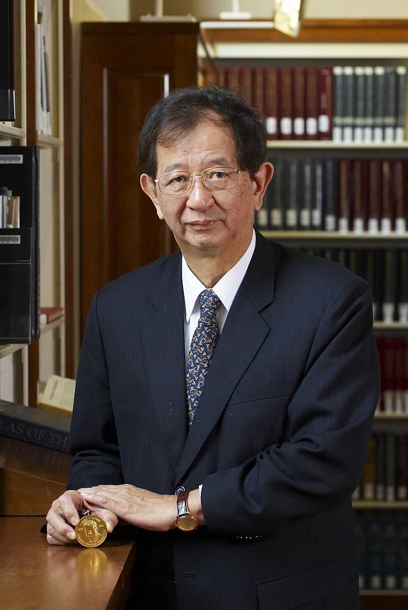 Yuan Tseh Lee HD2008 Othmer Gold Medal portrait.JPG
