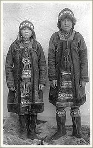 Yukaghir people - Yukaghirs from Yakutia, 1905.