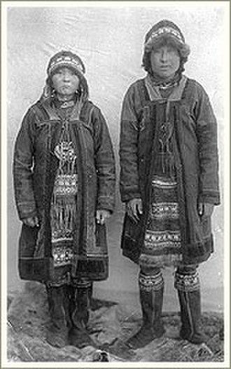 Yukaghir people - Yukaghirs from Yakutia, 1905.