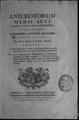 Zaccaria - Anecdotorum Medii Aevi maximam partem ex archivis pistoriensibus collectio, 1755 - 1177137 F.tif