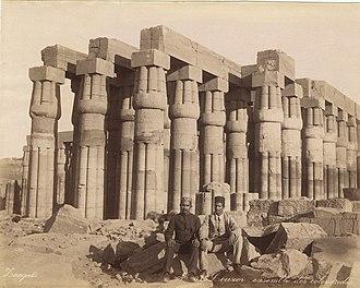 Adelphoi Zangaki - Image: Zangaki. 0975. Louxor ensemble des colonnades