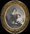 Zentralbibliothek Zürich - Porträt einer Dame mit Kind - 000008147.tif