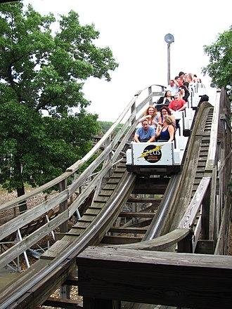 Zeus (roller coaster) - Zeus Roller Coaster (September 2011)