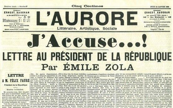 Zola Jaccuse