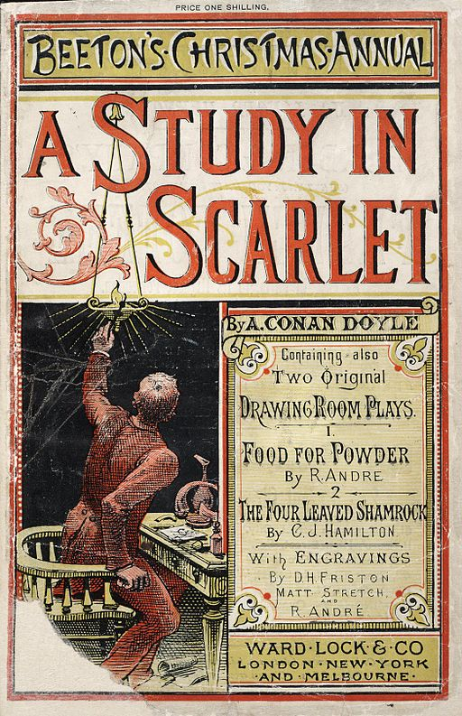 """A Study in Scarlet"" in Beeton's Christmas Annual (1887)"