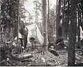 """First Sunday in camp, Lady Evelyn River"" (3777305077).jpg"