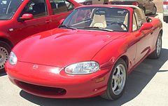 Mazda MX-5 przed liftingiem