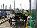 'Chitty-chitty bang-bang' at Channel Tunnel Terminal - geograph.org.uk - 2088291.jpg