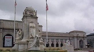 File:'Union Station in Washington DC' by Tania Dey.JPG