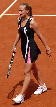 Ágnes Szávay at the 2009 French Open 3.jpg