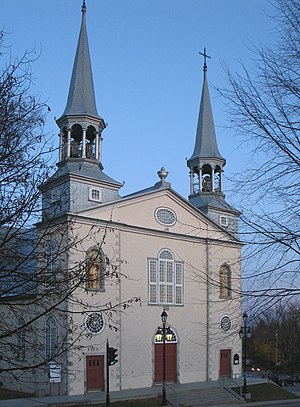 Charlesbourg, Quebec City - Image: Église Saint Charles Borromée Québec