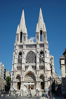 Image illustrative de l'article Église Saint-Vincent-de-Paul de Marseille