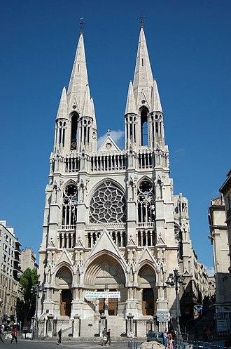Église Saint-Vincent-de-Paul - Image: Église des Réformés in Marseille