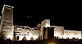 Égypte, Île Agilka, Complexe de Philae, Temple d'Isis, Vue du temple entier, du côté Est (49757902036).jpg