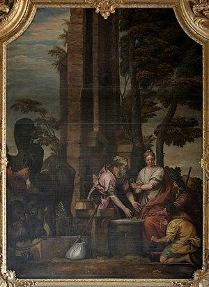 Salon d'Hercule - Image: Éliézer et Rebecca, Veronese