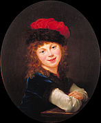 Élisabeth-Louise Vigée-LeBrun - Portrait of a Girl - Google Art Project.jpg