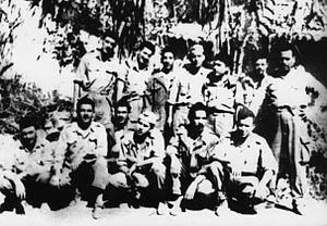 Ambush of Palestro - Staff of the ALN wilaya 4, 1956–1957.