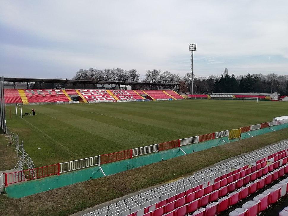 Čačak Stadium West Stand View