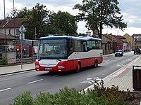 Český Brod, Krále Jiřího, autobus 412.jpg