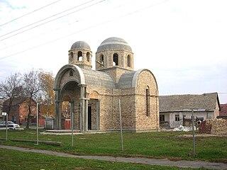 Čonoplja Village in Vojvodina, Serbia