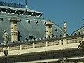 Łodź, Ogrodowa, palác, detail střechy.JPG