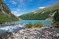 Впадение Шавлы в Нижнее Шавлинское озеро.jpg