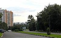 Кавказский бульвар. Вид к круговому движению.JPG