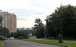 Skyline of Tsaritsyno縣
