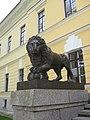 Новгородский Кремль, вторая скульптура льва.jpg
