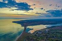 Олександрівський заказник з висоти після заходу сонця.jpg