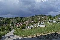 Панорама на Ѕвегор со селските гробишта.jpg