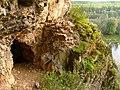 Пещера в Занозинской излучине, на реке Ай.jpg