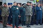 Президент України Петро Порошенко привітав молодих офіцерів з випуском 156 (16759523389).jpg