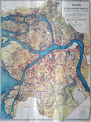 Map of Saint Petersburg, 1903