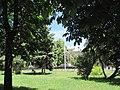 Сквер ім. Героів Великої Вітчизняної Війни. Вид з вул. Совєтській. Lug-164.JPG