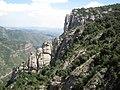 Скелі поблизу монастирю Монсеррат, Іспанія.JPG