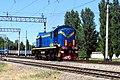 ТЭМ2-1111, Узбекистан, Ташкент, станция Сергели (Trainpix 197612).jpg