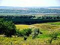 Через 5-километровую долину, за Прутом - румынское село Погэнешть - panoramio.jpg