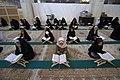 عکس های مراسم ترتیل خوانی یا جزء خوانی یا قرائت قرآن در ایام ماه رمضان در حرم فاطمه معصومه در شهر قم 21.jpg